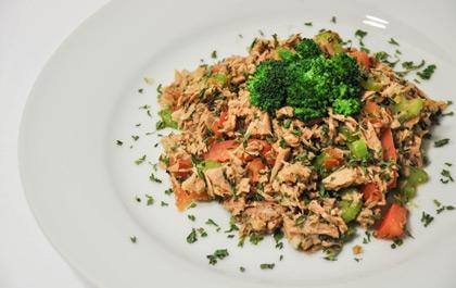 Salade de thon express